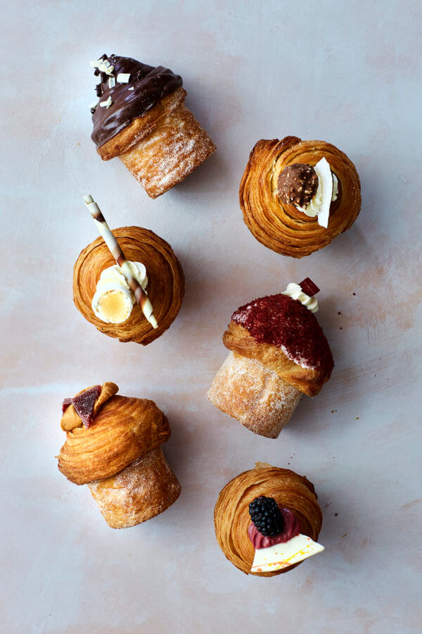 Top down image of Cruffins