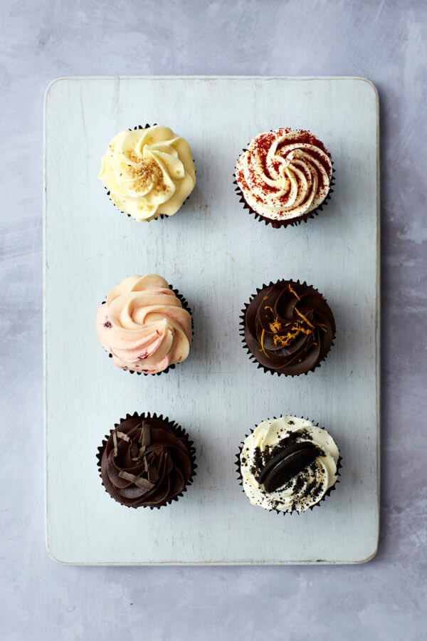 Top down image of Cupcakes